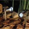 Stainless steel solar garden light