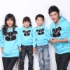 family matching embroidery bear designs Sweatshirts