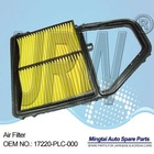 Car air filter for TOYOTA cars