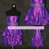 Sleeveless Purple High Quality Cheap Price Cocktail Short Party Dresses For Juniors DD2047