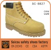 Guangzhou steel toe working shoes factory (SC-8827)