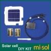 MONO 5X5 solar cells DIY kit for solar panel, regulator, bus tabbing wire