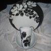 3pcs melamine dinner set / melamine tableware set / ceramic dinnerware