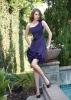 Custom-made One-shoulder Short Affordable Bridesmaid Dresses (ABG243)