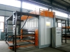 metal surface finish machine