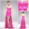 New Style Long Off-shoulder Asymmetrical Evening Dress