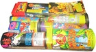 Toy fireworks packs