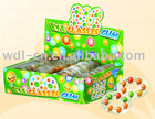 14ct chewing gum on eyeglasses shaped card in display box(sweets candy)