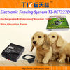 Fence wire alarm system TZ-W227D Pet fence system Rechargeable&Waterproof