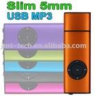 Cheap New arrival 2GB 4GB 8GB mp3 player Mini USB mp3 media player PMP(Orange)