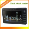 7inch Ebook Reader MP4 Player Funtion 4GB e-book