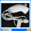 For Nunchuk Controller for Nintendo Wii (White)