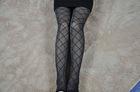 017 diamond chart ladies silk stockings