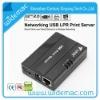 1port 10Mbps Network Printer USB Print Sever