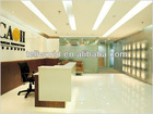 2012 Modern design solid surface Commercial Reception counter /service counter(TW-MART-100)