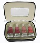 4 color lip gloss set