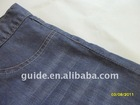 High quality mercerized elastic denim jeans fabric