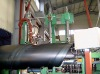 Spiral welded pipe mill, spiral welded pipe production line