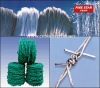 PVC Coated Barbed Wire (ISO 9001:2008, 15 year factory )