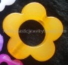 color bead, jelly bead, large flower bead, decoration bead,flower bead for decoration