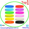 silicone band Rubber Sport Wristband Cuff Bracelet Wrist Bands