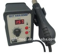 best-858D+ single LED display leadfree heat gun with helical wind-desolder station-heat gun