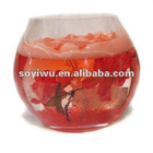 Candle manufacturers wholesale from yiwu market with crystal candleholder gift #203346