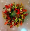 Artificial Wreaths for Halloween Decoration