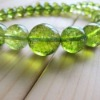 olivine crystal necklace supplies
