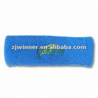 2012 High Quality Terry Towel Sport Headband/Head Band With Embroidery Logo