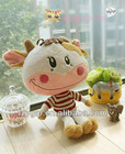 cute cow soft plush toy