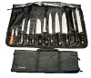 13 pc knife roll set