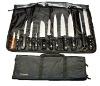 13 pc knife roll set