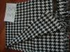 XZ-L0210 pendant black & white striped men scarf