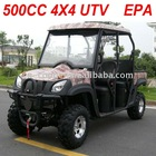 4X4 500CC 4 Seat UTV EEC and EPA