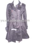 2011 High Quality Fashion Ladies Trench Coat