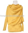 2010 Ladies' Fashion 100% Cotton Knitting Bat Sweater