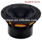 bass loudspeaker used as home audio