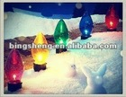 Cheap E14 C7 15W color incandescent candle bulb