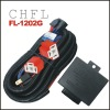 H4 HID Relay Wiring Harness FL1202G (H4 Auto Headlight Brighter )