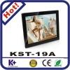 19 inch digital photo frame support usb driver big screen digital photo frame