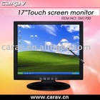 17' Touch Screen Monitor(Buttons on front and side are both ok)