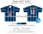 Custom Men's sublimation football shirt