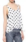 Polka Dots t shirt for women HST624