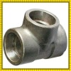 stainless steel pipe reducing tee