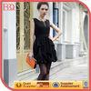elegant black winter dress