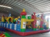 2012HOT Blue Cat Inflatable Amusement Park / inflatable fun city