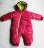 Infant clothes rompers baby winter clothes 2012