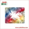 Beautiful Fabric+Natural Rubber Mouse Pad