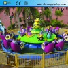 Amusement Equipment Spin Rider Snail Attacking Team